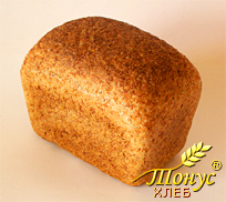 Our baked Flourless bread TONUS looks like a usual bread in appearance and taste, `has a thin crispy crust and a delicious crumb, pleasant to the taste